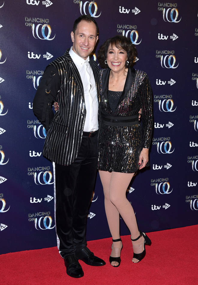 Lukasz was partnered up with Grease actress Didi Conn for the 2019 series.