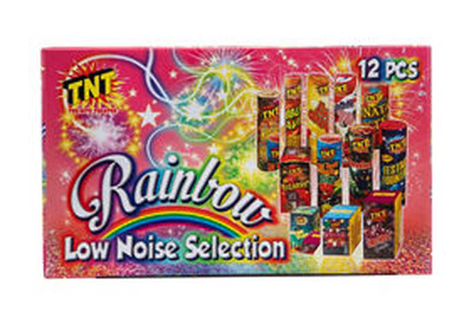 Asda are selling Low Noise Selection Box Fireworks