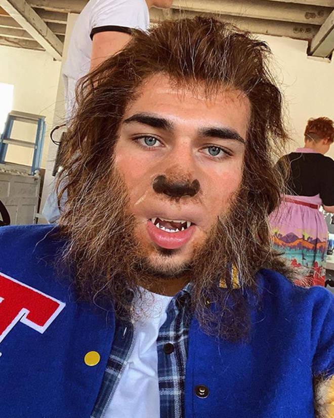 Love Island's Tommy Fury transformed into a werewolf