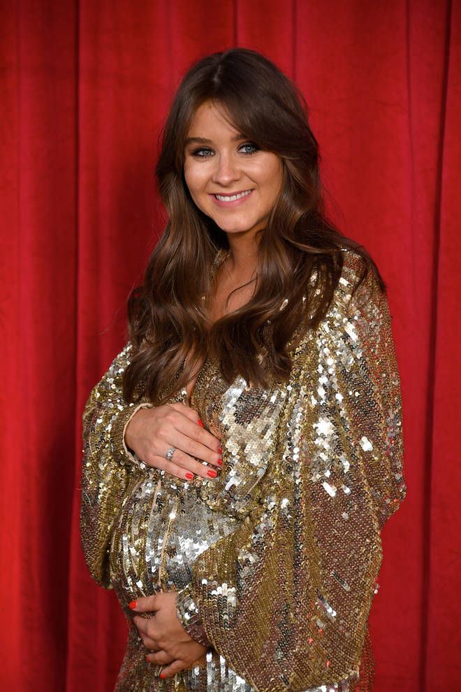 Brooke is currently on maternity leave from Coronation Street