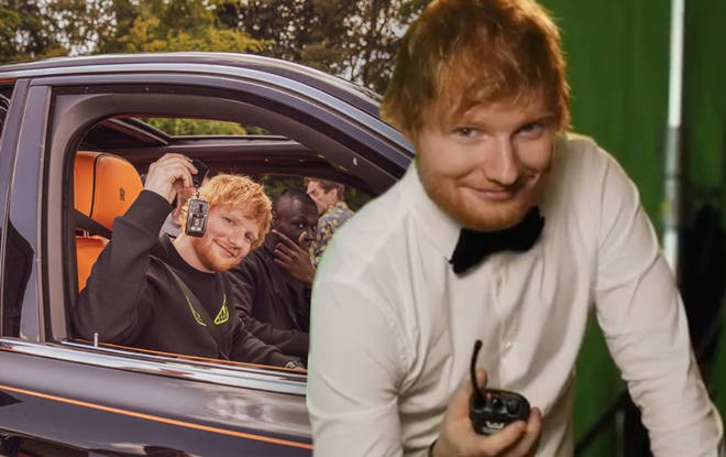 Ed Sheeran is rolling in the dough now