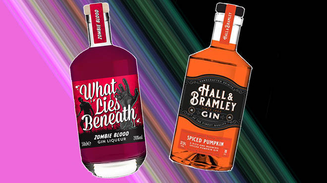 B&M are selling two Halloween-themed gins