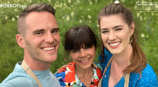 Alice, David and Steph are competing in the GBBO final