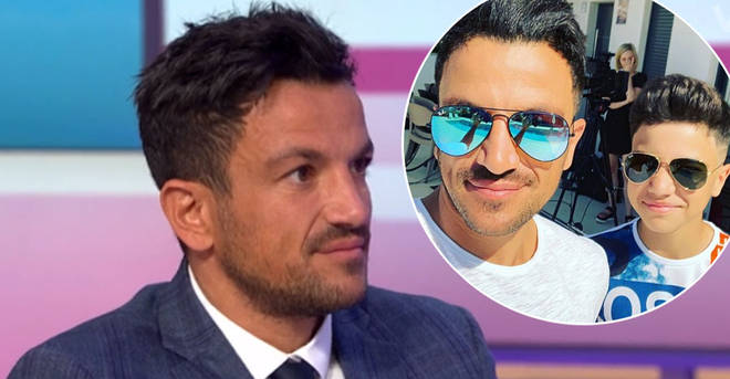 Peter Andre has opened up about his fears for son Junior