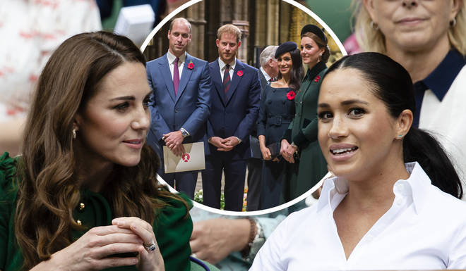 Kate Middleton is said to have reached out to Meghan Markle after her admission that she was struggling