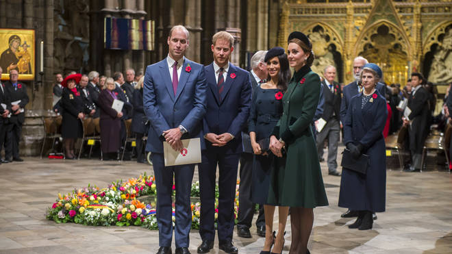 Prince Harry admitted there was distance between him and his brother