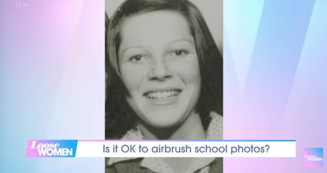 Ruth Langsford drew on her own experience of school photos during the discussion