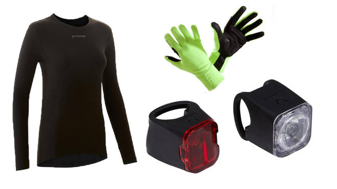 Cycling accessories, from £7.99
