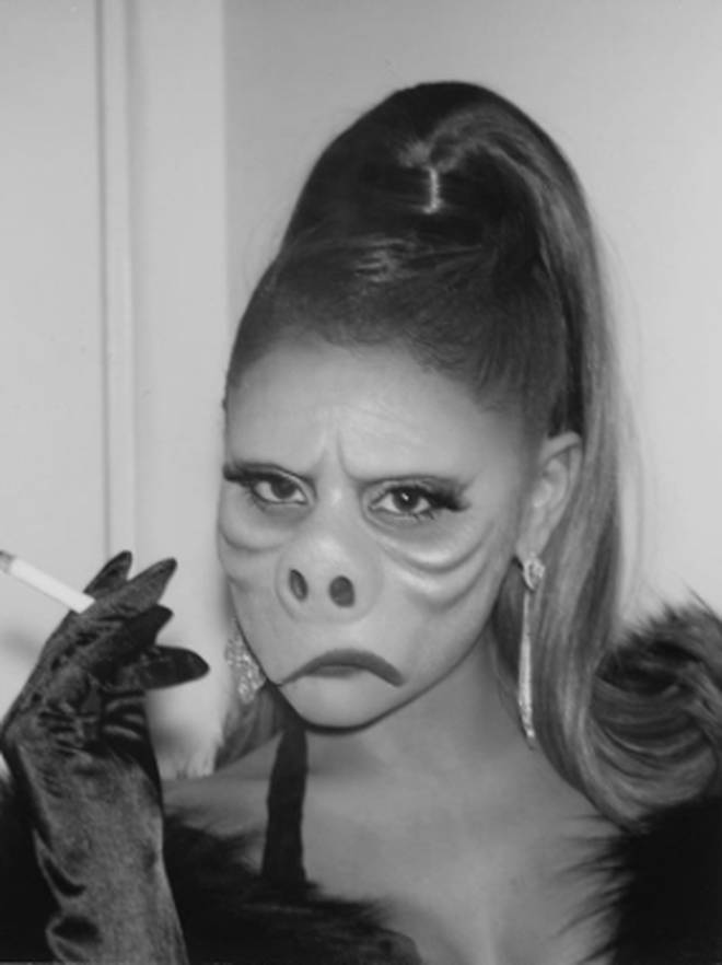 Ariana Grande looked unrecognisable as Pighead