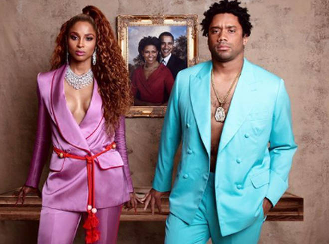 Ciara and her husband transformed into the King and Queen of music