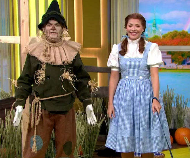 Holly and Phil transformed for their Wizard of OZ This Morning special