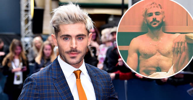 Zac Efron fans think he flashed his manhood in this new photo