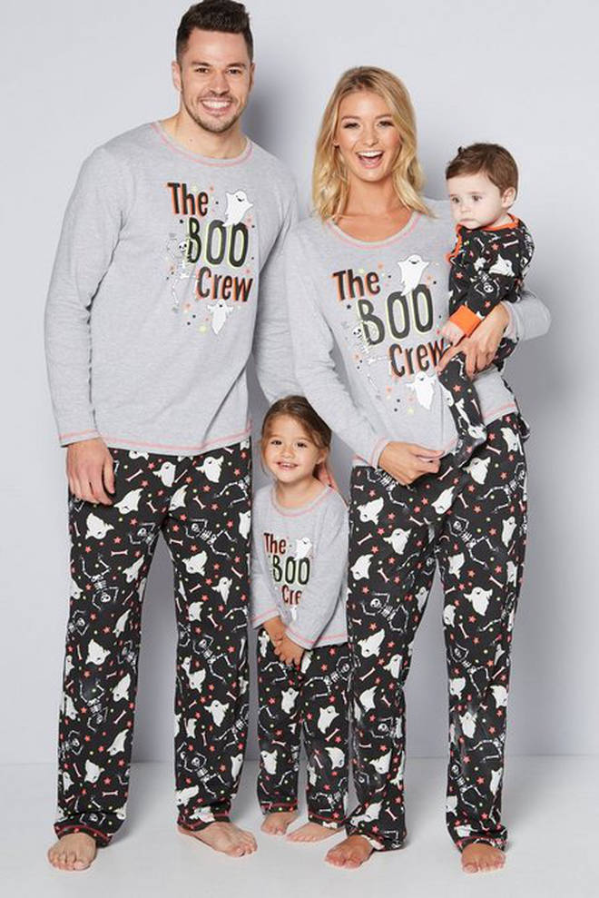 Matching pyjamas don't just have to be for Christmas