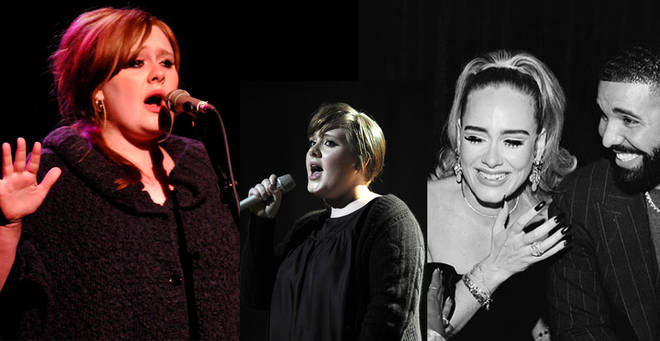 Adele a montré sa silhouette minceur à la fête d'anniversaire de Drake plus tôt cette semaine