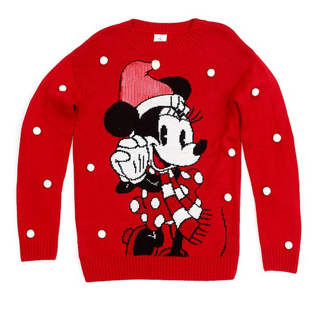 Minnie Mouse Holiday Cheer Christmas Jumper