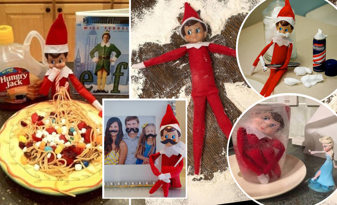 These genius Elf on the Shelf ideas will have your whole family in hysterics.
