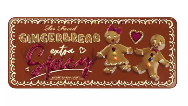 Too Faced Gingerbread pallette