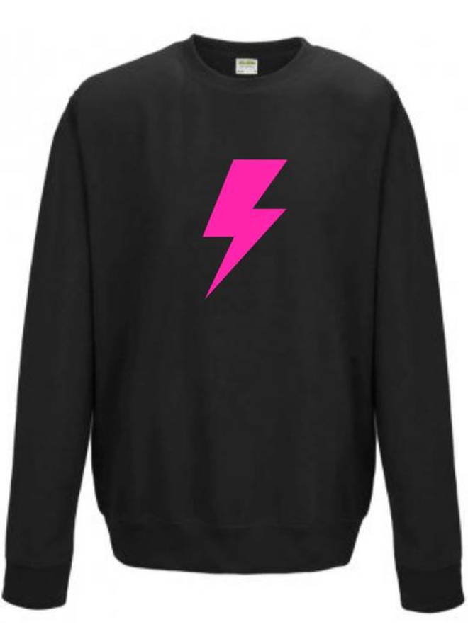Lightening bolt jumper from Neon Marl