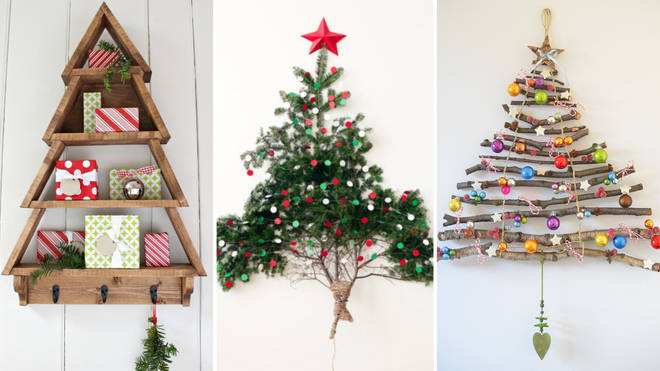 These festive alternatives to Christmas trees will give your home a unique feel.