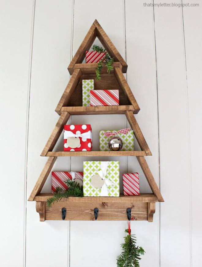 Make an awesome display for your stocking fillers.