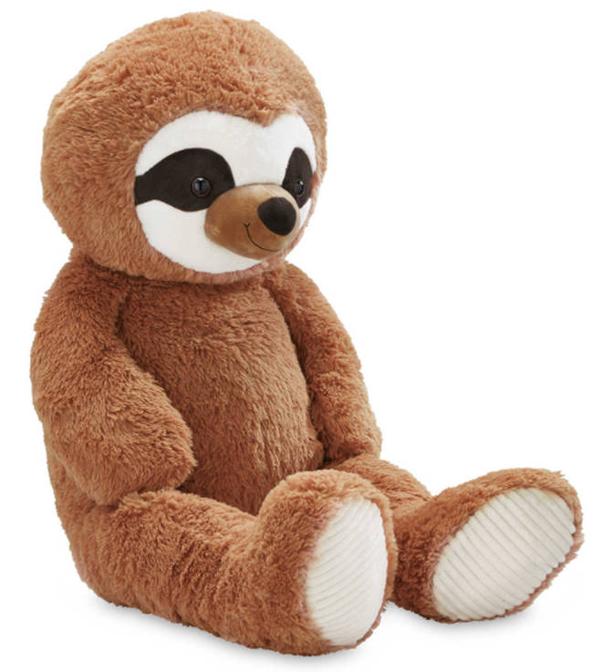The cuddly toy stands at a whopping 100cm tall.