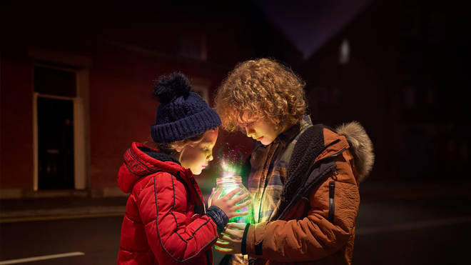 Tilly and her brother Jack capture the magic of Christmas from the sky.