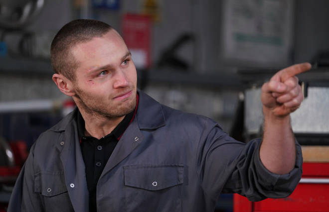 Danny Walters plays hunky mechanic Keanu Taylor in the BBC soap.