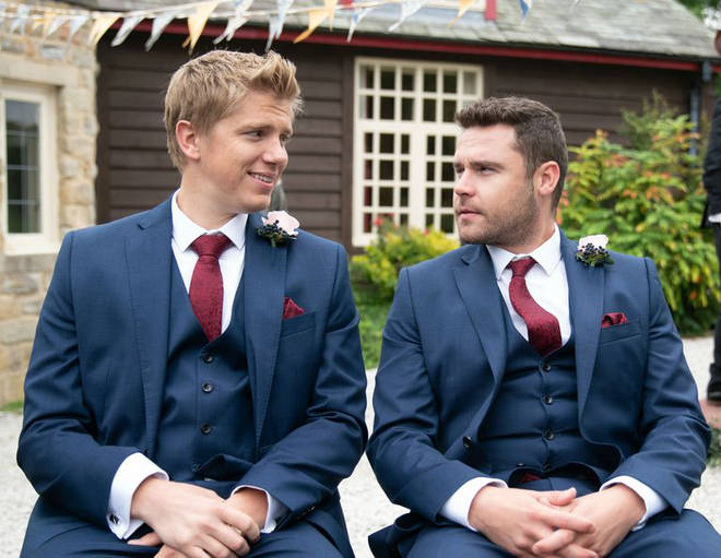 Danny plays Aaron Dingle, who married Robert Sugden in an emotional episode last year.