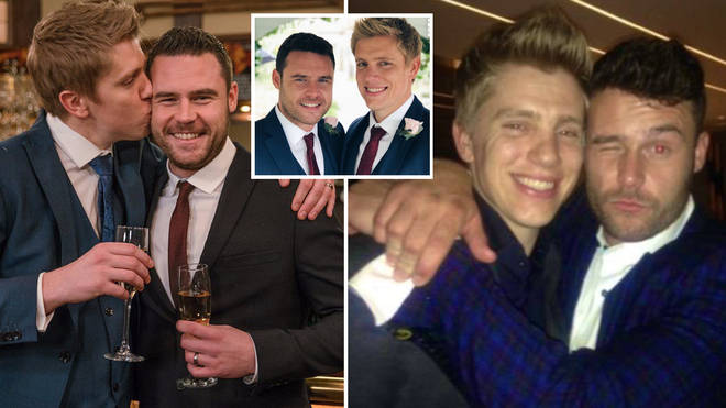 Danny Miller posted a sweet tribute to his on-screen husband on Twitter.