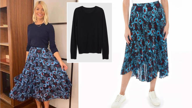 Holly Willoughby is wearing a £350 skirt