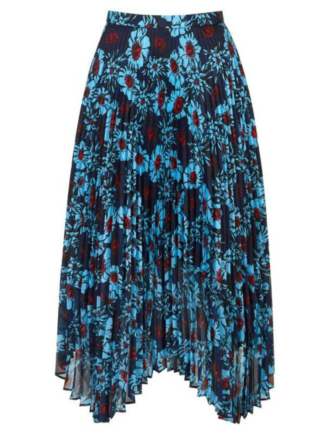 Holly's skirt is £350