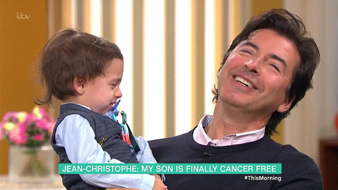 Jean-Christophe has revealed his son may never speak because of his autism