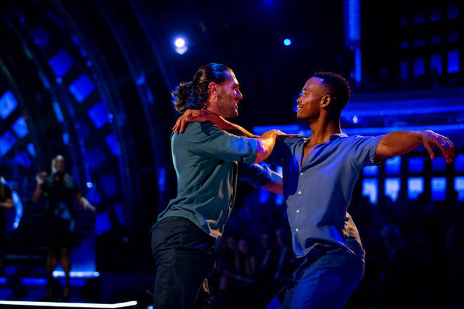 Strictly Come Dancing viewers loved the professional routine on Sunday