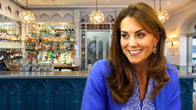 Kate Middleton reportedly sneaked into a local pub for drinks with school mums