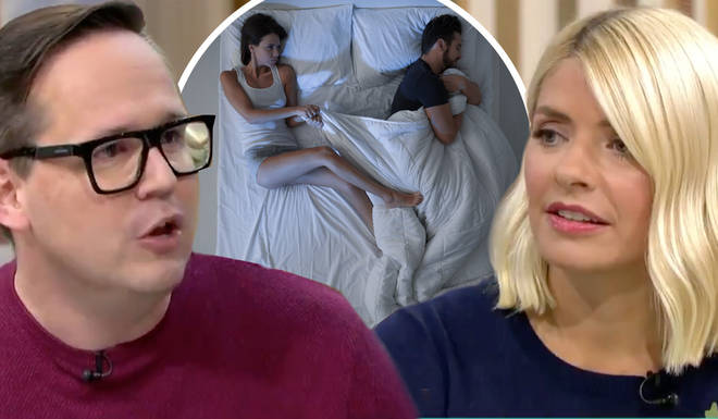 The sleep expert said that having separate duvets means you can control your sleep environment
