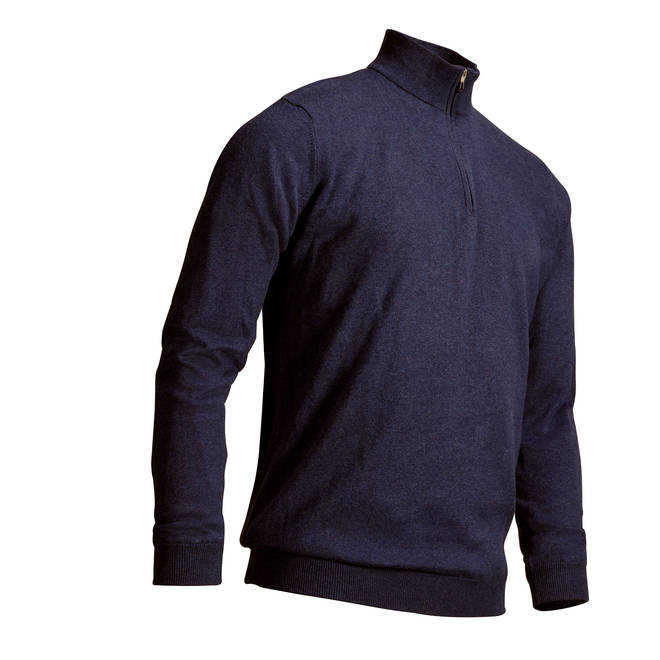 Inesis Navy Blue Men's Mild Weather Windproof Golf Pullover