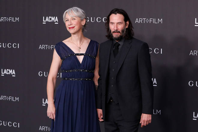 Keanu Reeves has gone public with his girlfriend