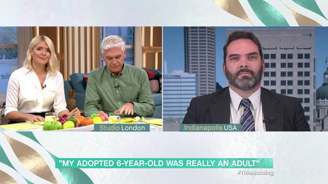 Michael appeared on This Morning last month