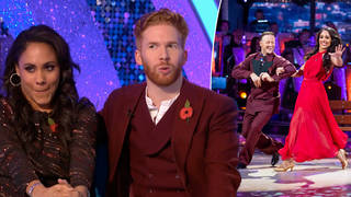 Neil has hinted he'll be back on Strictly this weekend