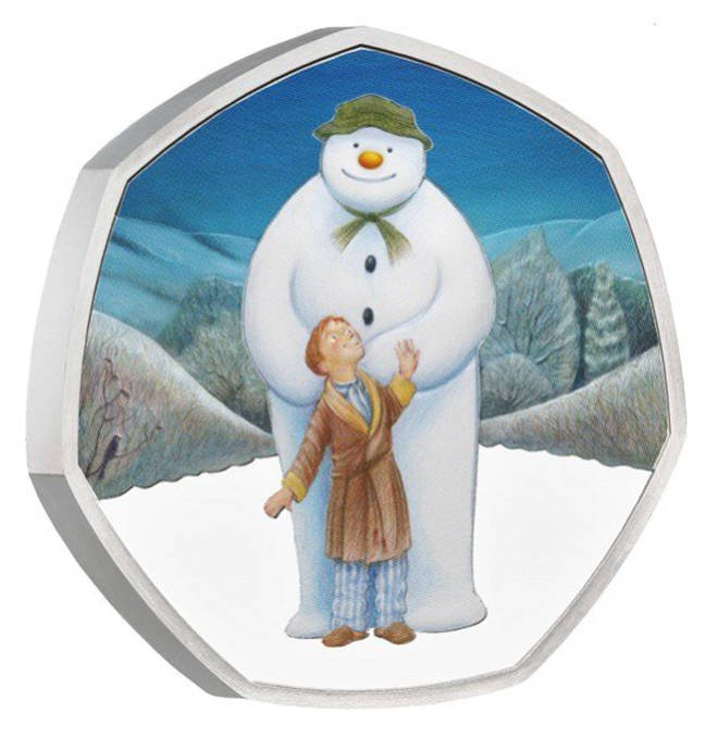 Royal Mint have launched three versions of The Snowman coin, all varying in exclusivity and price