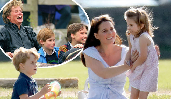 Kate Middleton is raising her children the same way Princess Diana did