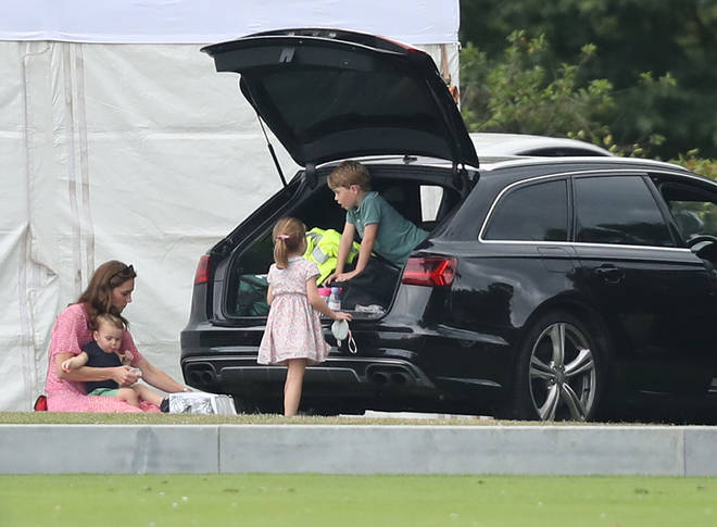 Kate Middleton has been known to take her children on relaxing days out