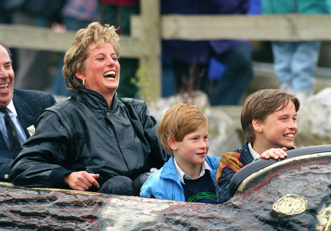 Princess Diana loved taking her boys out for the day