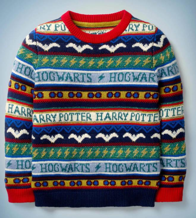 Boden's £35 Hogwarts children's jumper