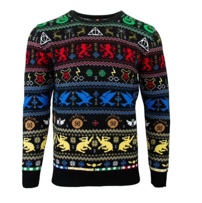 Harry Potter house jumper, Geek Store, £34.99
