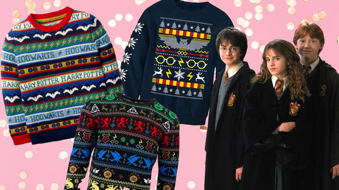 These are the must-have Harry Potter Christmas jumpers for the season