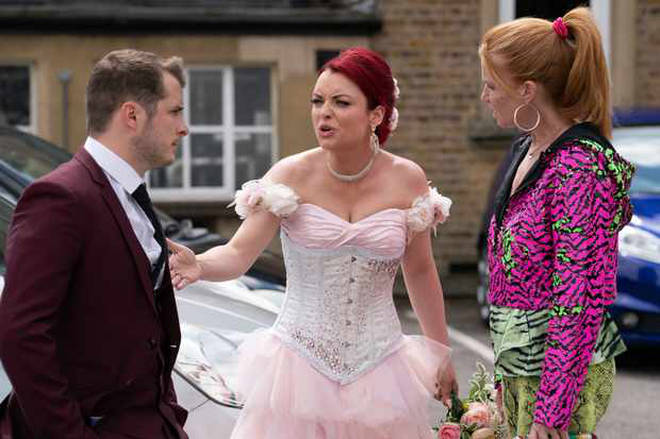 Whitney's wedding day turned into disaster