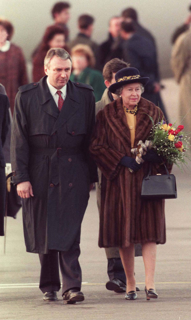 The Queen has caused controversy in the past for wearing real fur