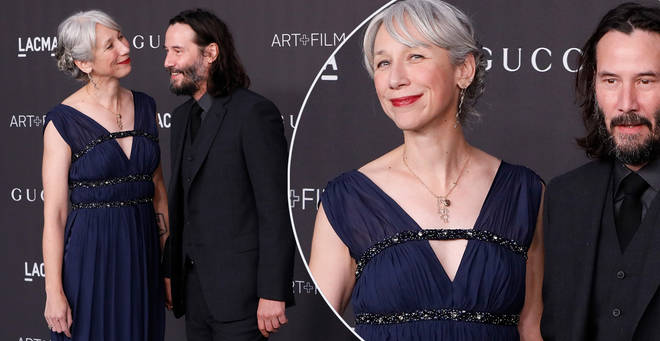 Keanu Reeves recently went public with his girlfriend
