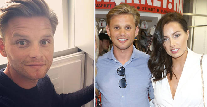 Jeff Brazier has put his wedding ring back on